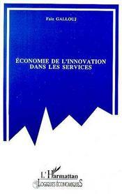 Economie De L'Innovation Dans Les Services - Intérieur - Format classique