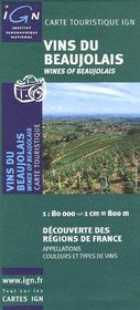 Vins du Beaujolais - Couverture - Format classique
