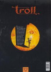 Troll t.3 ; mille et un ennuis - 4ème de couverture - Format classique