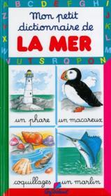Mon Petit Dictionnaire ; Mer - Couverture - Format classique