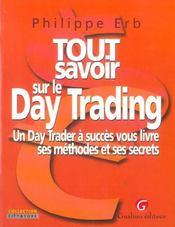 Tout savoir sur le day trading - Intérieur - Format classique