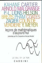 Lecons de mathematiques d'aujourd'hui - Intérieur - Format classique