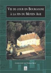 Vie de cour en Bourgogne à la fin du moyen âge - Couverture - Format classique