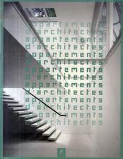 Appartements d'architectes - Intérieur - Format classique