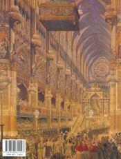 Le sacre des rois de france - 4ème de couverture - Format classique
