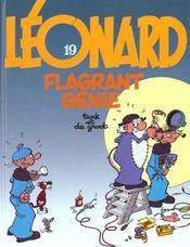 Leonard t.19 ; flagrant genie - Intérieur - Format classique