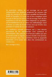 Intégrer les écoles de commerce en admission parallèle (4e édition - 4ème de couverture - Format classique