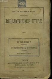 Philosophie Positive, Auguste Comte Et M. Pierre Lafitte. - Couverture - Format classique