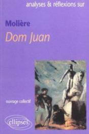 Moliere Dom Juan - Couverture - Format classique