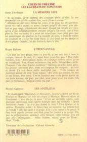 La Memoire Vive - 4ème de couverture - Format classique