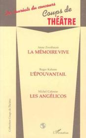 La Memoire Vive - Couverture - Format classique