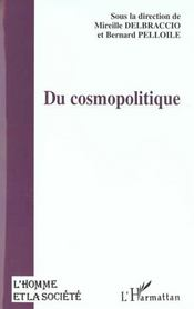 Du Cosmopolitique - Intérieur - Format classique
