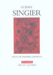 Gustave Singier - Intérieur - Format classique