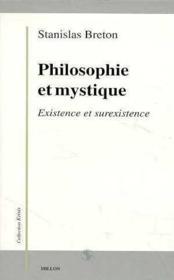 Philosophie Et Mystique - Couverture - Format classique