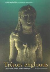 Tresors Engloutis ; Journal De Bord D'Un Archeologue - Intérieur - Format classique