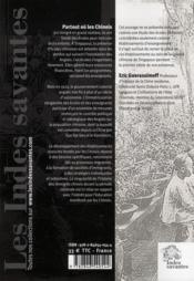 Emigration Et Education Les Ecoles Chinoises A Singapour 1819 1919 - 4ème de couverture - Format classique