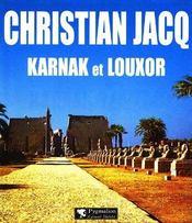 Karnak Et Louxor - Intérieur - Format classique