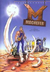 Machefer t.2 ; le désert des carcasses - Intérieur - Format classique