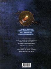 La conjuration d'opale t.1; le serment - 4ème de couverture - Format classique