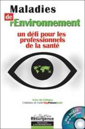 Maladies De L'Environnement - Couverture - Format classique