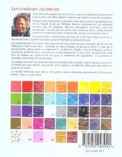 Les couleurs racontent - 4ème de couverture - Format classique