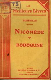 Nicomede Suivi De Rodogune. Collection : Les Meilleurs Livres N° 162. - Couverture - Format classique