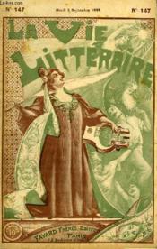 Le Horia. La Vie Litteraire. - Couverture - Format classique