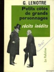 Petits Cotes De Grands Personnages - Couverture - Format classique