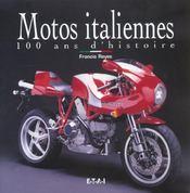 Motos Italiennes, 100 Ans D'Histoire - Intérieur - Format classique