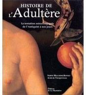 Histoire de l'adultère - Couverture - Format classique
