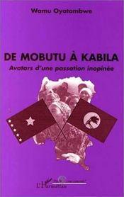 De Mobutu à Babila ; avatars d'une passation inopinée - Intérieur - Format classique