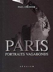 Paris Portraits Vagabonds - Couverture - Format classique