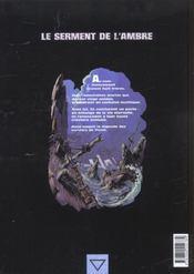 Le serment de l'ambre t.3 ; les barbares de Deire - 4ème de couverture - Format classique