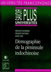 Demographie De La Peninsule Indochinoise - Couverture - Format classique