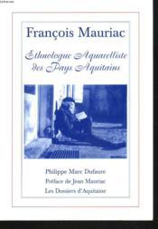 Francois Mauriac - Couverture - Format classique
