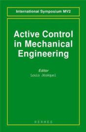 Active control in mechanical engineering - Couverture - Format classique