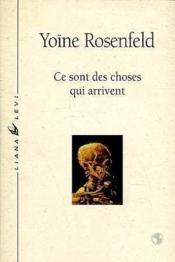 Ce Sont Des Choses Qui Arrivent - Couverture - Format classique