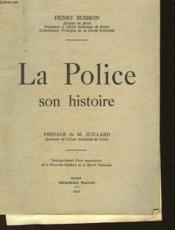 La Police Son Histoire - Couverture - Format classique