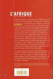 Annuaire 1998-1999 - 4ème de couverture - Format classique