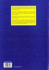 Dossiers Endocrinologie/Endocrinologie/50 Dossiers Preparations Internat - 4ème de couverture - Format classique