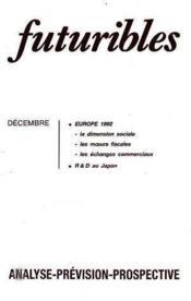 Futuribles N.127 Decembre 1988 - Couverture - Format classique