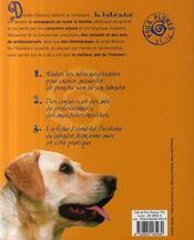 Labrador - 4ème de couverture - Format classique