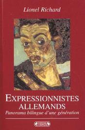 Expressionnistes allemands - Intérieur - Format classique