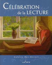 Célébration de la lecture - Couverture - Format classique