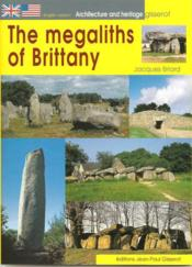 Megaliths Of Brittany - Couverture - Format classique