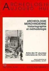 Archeologie Merovingienne - Couverture - Format classique