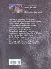 La Gasconne - 4ème de couverture - Format classique