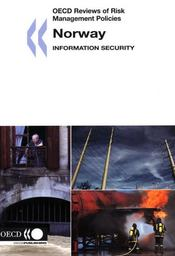 Oecd reviews of risk management policies norway ; information security - Intérieur - Format classique
