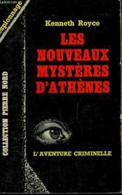 Les Nouveaux Mysteres D'Athenes. Collection L'Aventure Criminelle N° 146 - Couverture - Format classique