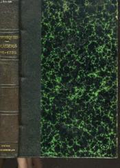Cahiers 1716-1755. Texte Receuillis Et Presentes Par Bernard Grasset - Couverture - Format classique